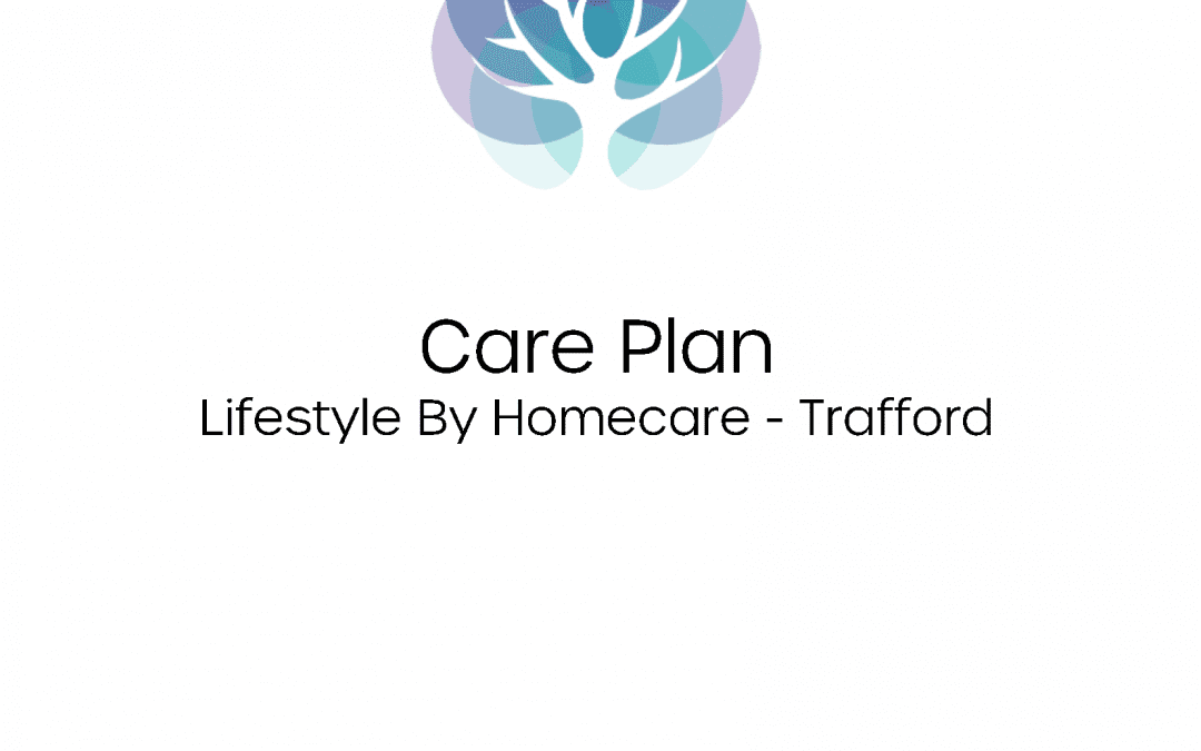 New Care Plan Front Cover